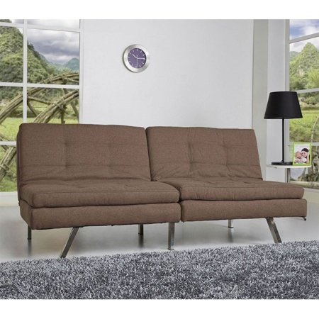 Gold Sparrow Memphis Coffee Double Cushion Futon Sofa Bed