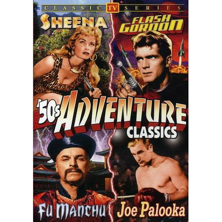 50's TV Adventure Classics (DVD) - 50's Style Home Decor