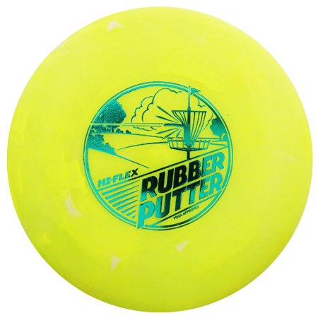 Lightning Golf Discs Rubber Putter Putt & Approach Golf Disc [Colors may vary] -