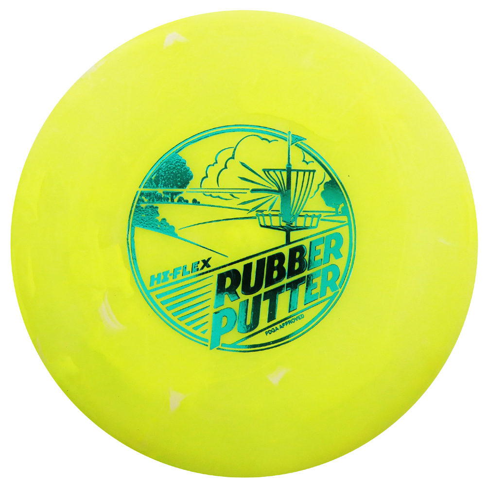 Lightning Golf Discs Rubber Putter Putt & Approach Golf Disc [Colors may vary] - 170-175g