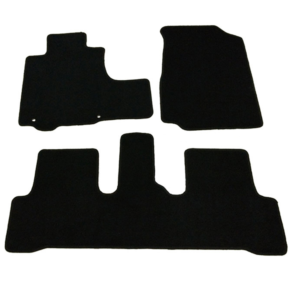 Fits 07-11 Honda CR-V 4Dr OEM Factory Fitment Car Floor Mats Front & Rear Nylon