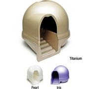 Booda Dome Clean Step Litter box, Nickel