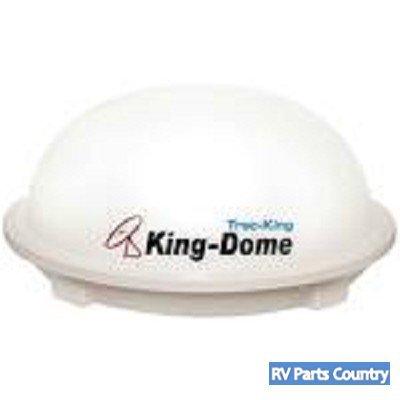 King Dome 9762Lp In-Motion Rv Satellite Tv Antenna (White