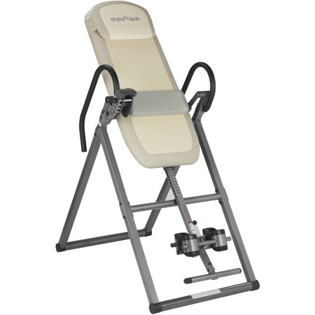 Innova Fitness ITX9700 Advanced Memory Foam Inversion Therapy Table with Lumbar Pad and Hot/Cold Therapy Pouch