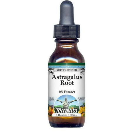 Astragalus Root Glycerite Liquid Extract (1:5) - Mint Flavored (1 oz, ZIN: 522076) ()