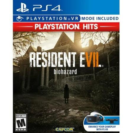 Resident Evil 7 PlayStation Hits, Capcom, PlayStation 4/VR, 013388560738