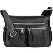 Vbiger Women Shoulder Bags Messenger Handbags Multi Pocket Waterproof Crossbody Bags