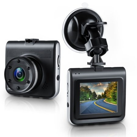 AmazingForLess Dash Cam, Full 1080P, 170 Degree Wide Angle, 30 FPS, HD 2.2 TFT Display Car Camera Recorder