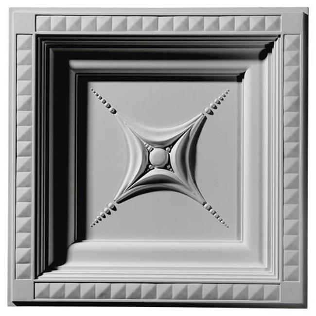 24 in. W x 24 in. H x 2.88 in. P Architectural Accents - Star Ceiling Tile