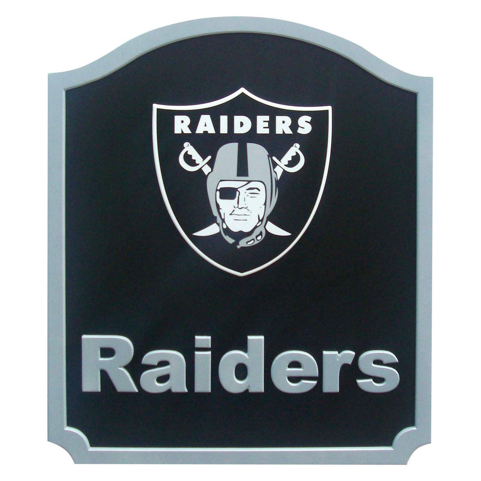fan creations nfl team name shield oakland raiders