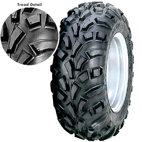 Carlisle AT489 2-Ply Replacement ATV Utility Front Tire 23X7-10
