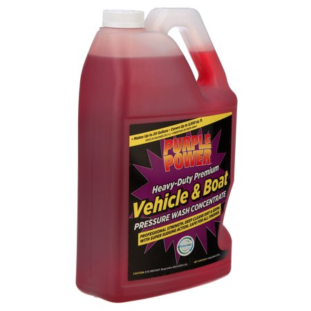 Purple Power Heavy-Duty Vehicle and Boat Pressure Wash Concentrate, 1 Gallon
