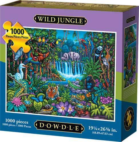 Dowdle Jigsaw Puzzle Wild Jungle 1000 Piece