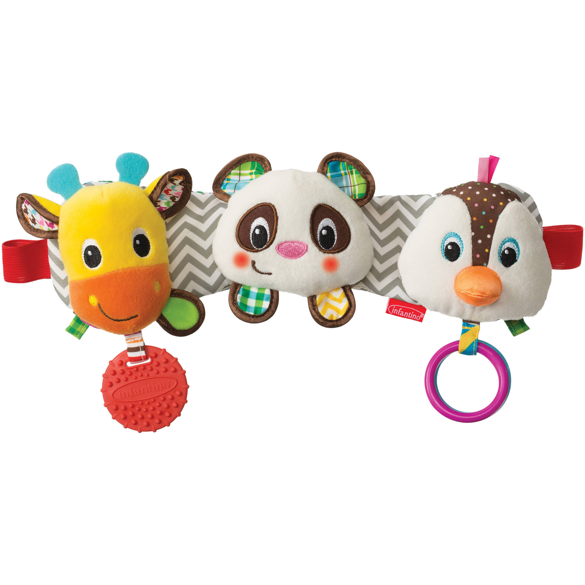 Infantino See Play Go Stretch & Play Musical Travel Trio
