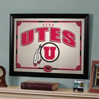 NCAA - Utah Utes Framed Mirror