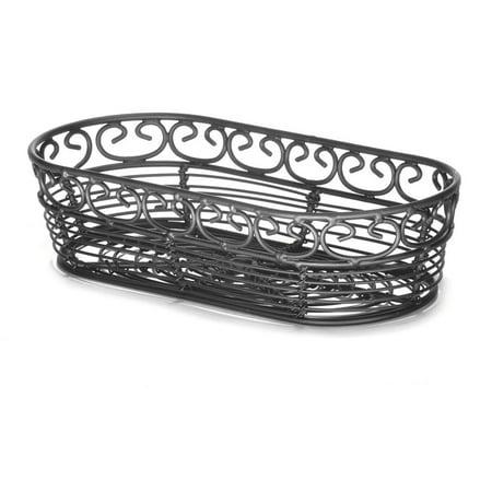"""TableCraft BK21709 Mediterranean Collection 9"""" Oblong Basket"""