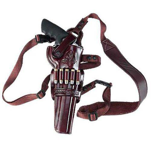 "Galco KK148H Kodiak Shoulder Holster Adj Ruger Blackhawk 7.5"", Havana Brown Leather"