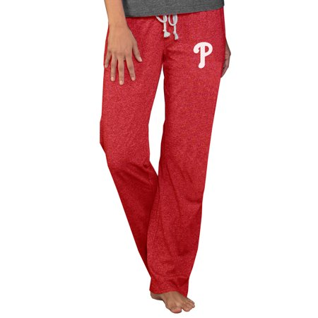 Philadelphia Phillies Pants - Philadelphia Phillies Concepts Sport Women's Quest Knit Pants - Red