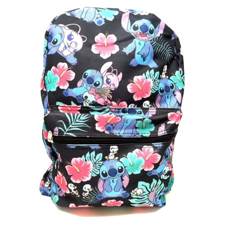 Disney Lilo and Stitch Allover Print Black 16