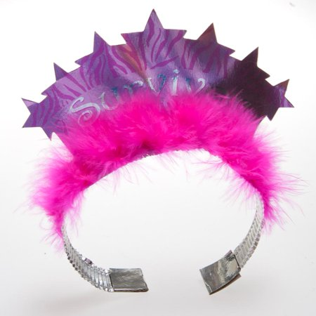 "Pink Ribbon ""Survivor"" Tiara"