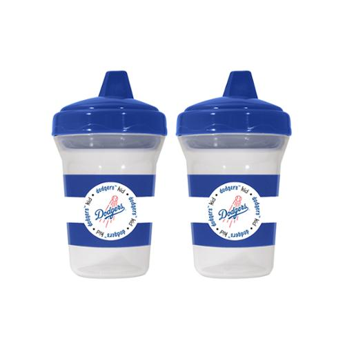 Baby Fanatic BFA-LAD122 Los Angeles Dodgers Mlb 5oz Sippy Cup [2 Pack]