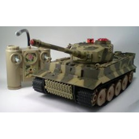 Ww2 King Tiger Radio Control Tank With Infra Red Fighting Battle Tank