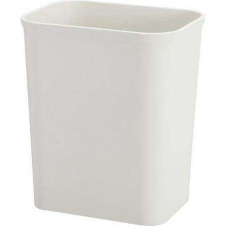 Hapco Fire Retardant 8 Quart UL Approved Wastebasket - Plastic - Sandstone