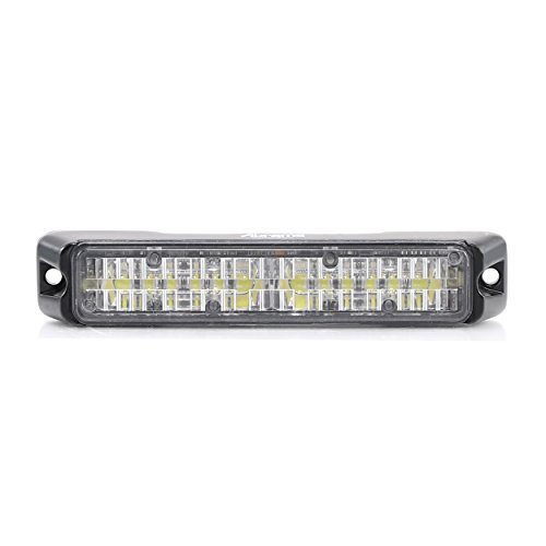 Abrams  T3-A Led Grille Emergency Vehicle Warning Strobe Lights Amber