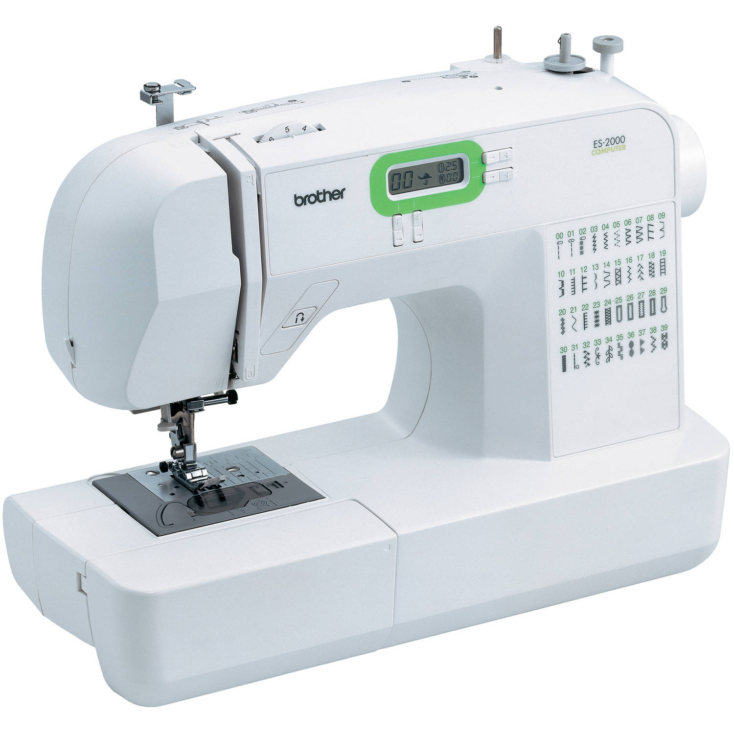 Brother 77 Stitch Function Computerized Free Arm Sewing Machine, ES2000