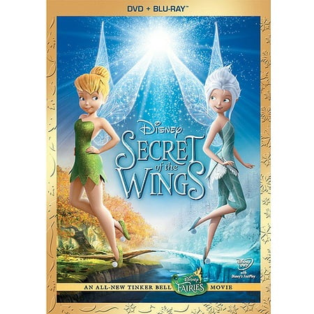 Secret Of The Wings (DVD + Blu-ray) (Widescreen) - Tinkerbell Movie
