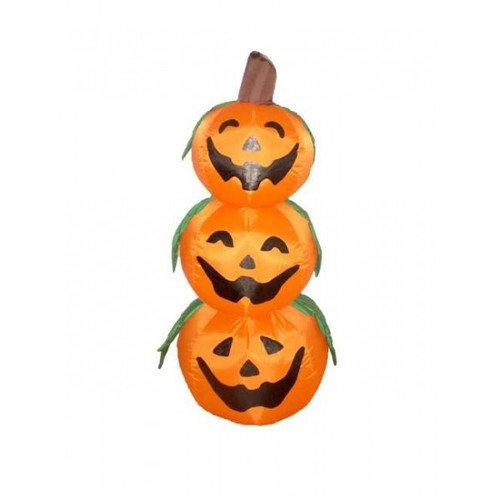 BZB Goods Halloween Inflatable 3 Pumpkins Decoration