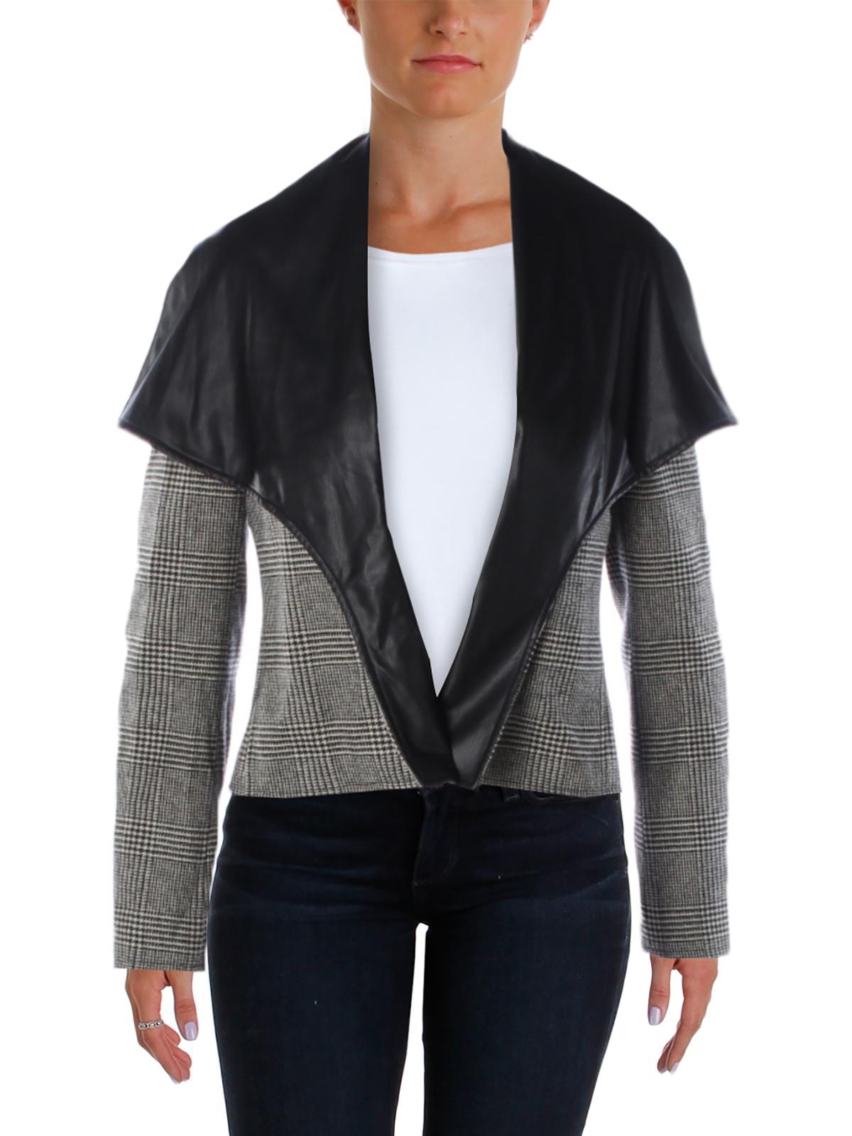 Lauren Ralph Lauren Womens Open Long Sleeves Jacket