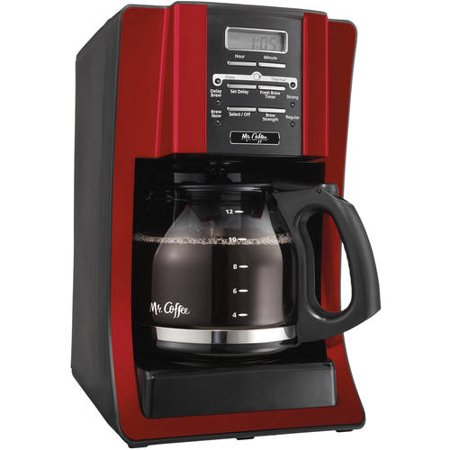 Mr Coffee Maker In Red : Mr. Coffee 12-Cup Programmable Coffee Maker, SJX - Walmart.com