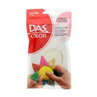 Das Air Hardening Clay, 5.3 oz., White
