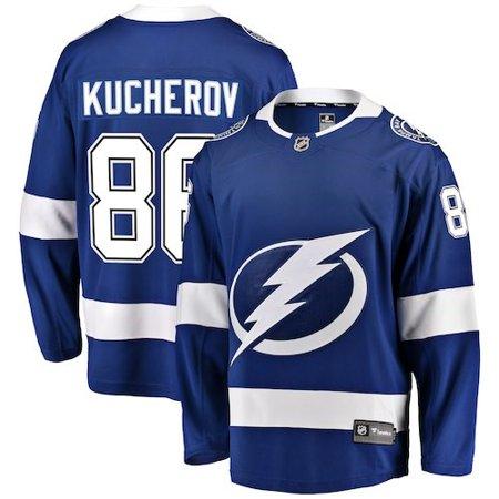 Nikita Kucherov Tampa Bay Lightning Fanatics Branded Home Breakaway Player Jersey -