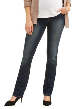 73d26048c5c Product Image Maternity Full-Panel Super Soft Straight Leg Jeans --  Available in Plus Size
