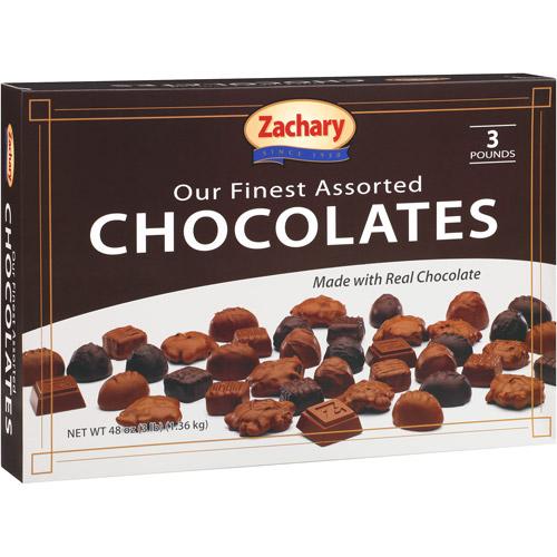 Zachary Fine Assorted Holiday Chocolates, 48 oz