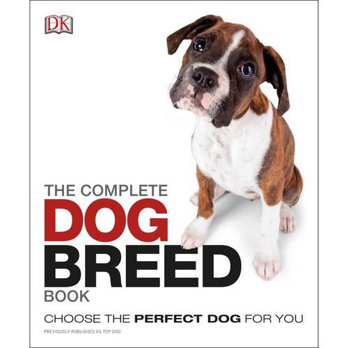 DK Books-The Complete Dog Breed Book, Pk 1, Random House