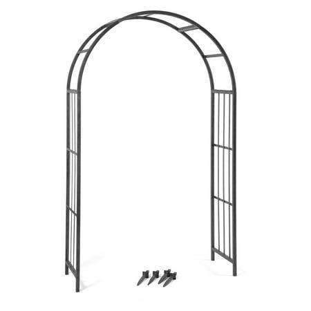 Deer Park Ironworks Solera 7-ft. Steel Arch Arbor (Steel Arch Arbor)