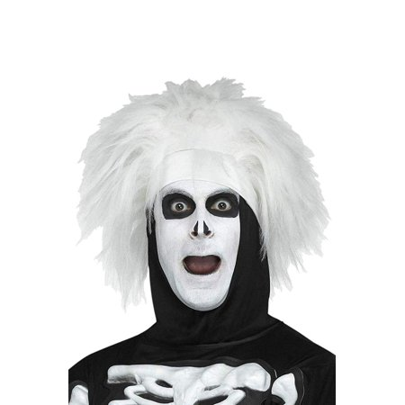 Saturday Night Live David S. Pumpkins Beat Boy Skeleton Adult Costume Wig - One Size - Places To Buy Wigs Near Me