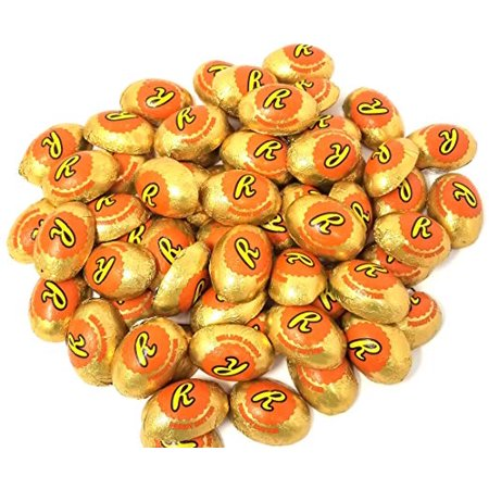 Reese's Milk Chocolate & Peanut Butter Creme Gold Eggs, - Halloween Cream Eggs Uk