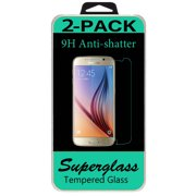 2 Tempered Glass Screen Protector For Samsung Galaxy S6
