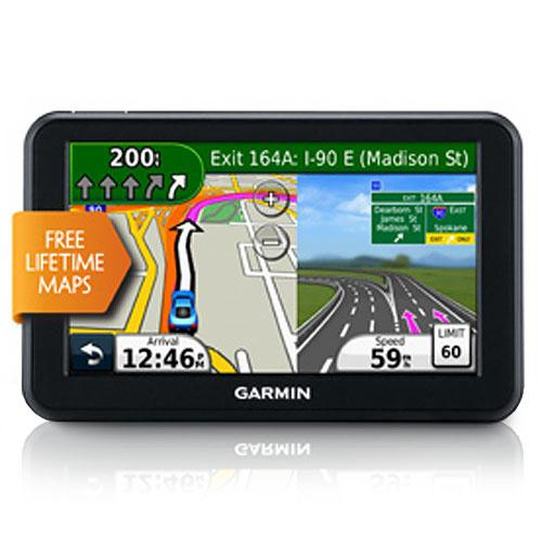 5 In. GPS Navigator with United States Map Coverage and Lifetime Map Updates