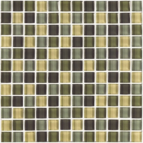 Interceramic Shimmer Blends 1'' x 1'' Ceramic Mosaic Tile in Ocean