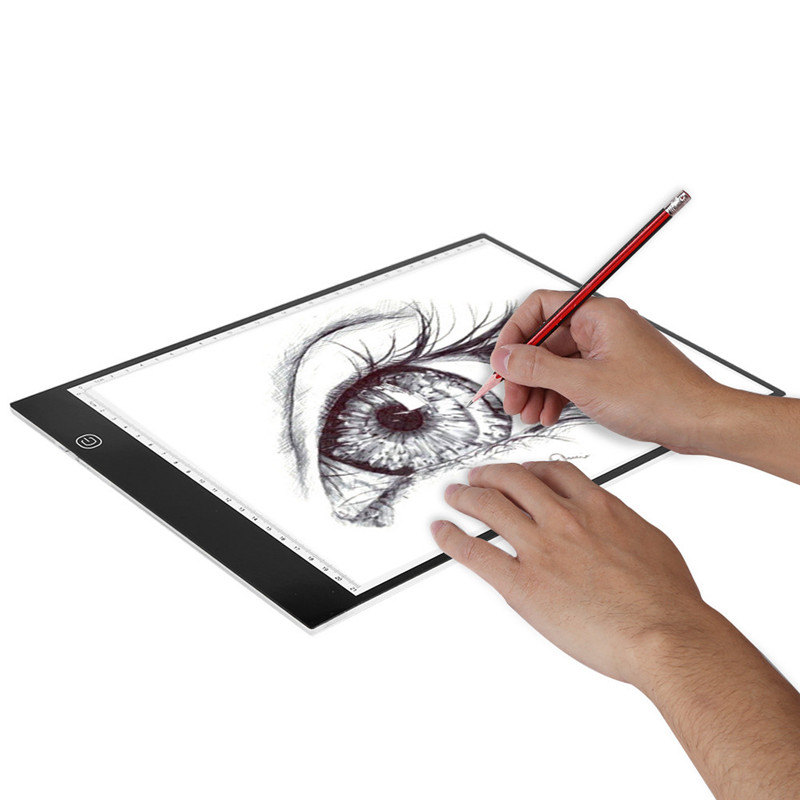 A4 Led Drawing Board Led Art Board Adjustable Light Pad Tracing