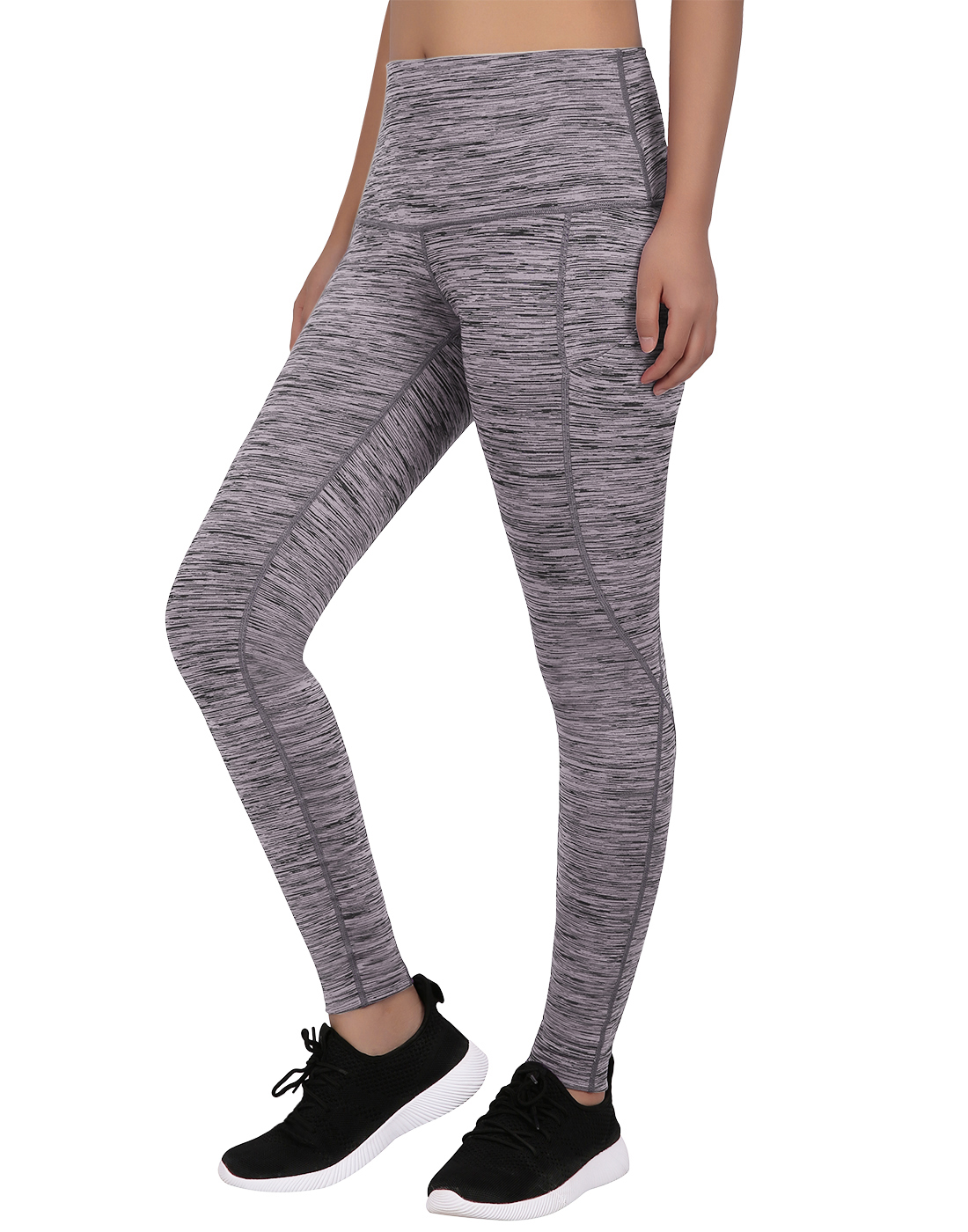 ZZpioneer Yoga Pants for Women Cell Phone Pockets Sports Leggings Casual Tummy Control High Waist Yoga Athletic Pants