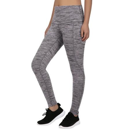 7d66ba3af56 HDE Women s High Waist Yoga Pants Athletic Leggings with Smartphone Pocket  - image 4 ...