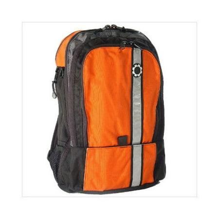 dadgear orange retro stripe backpack diaper bag. Black Bedroom Furniture Sets. Home Design Ideas