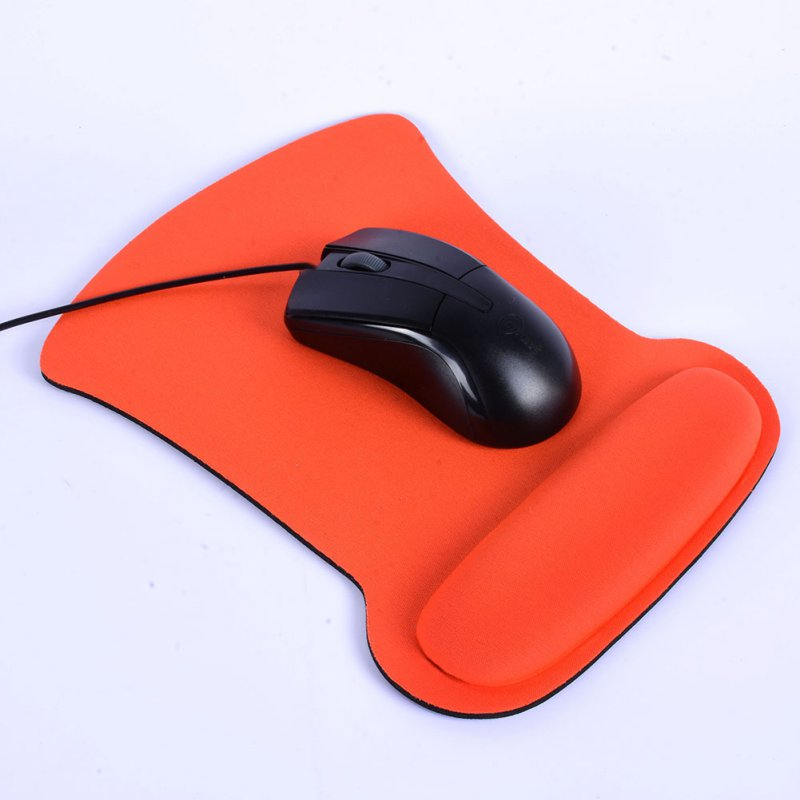 Fashionyard Comfort Anti-Slip Soft Sponge Mouse Pad Thickened Wrist Rest Support Home Office Mice Pad For PC Laptop