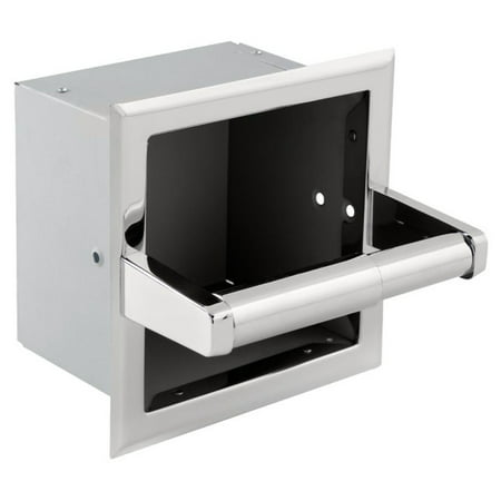 Recessed Extra Roll Toilet Paper Holder Roll Recessed Toilet